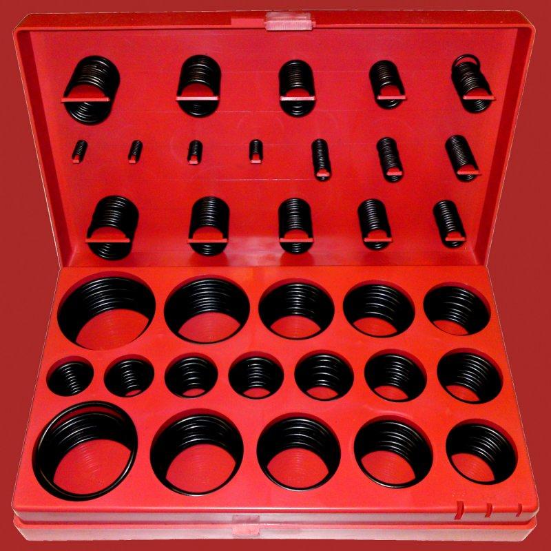 419 tlg zoll o ring sortiment 1 8 2 dichtungsringe satz. Black Bedroom Furniture Sets. Home Design Ideas